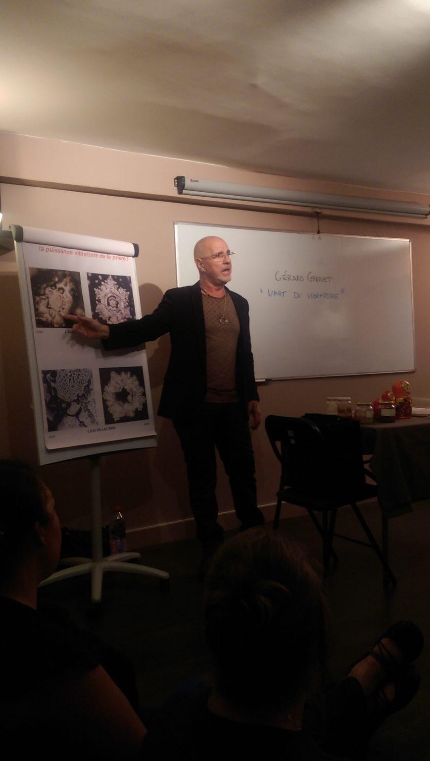 Conférence à Lyon : l'Art du Vibratoire