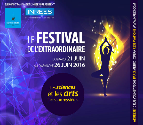 Festival de l'Extraordinaire 2016 par l'INREES