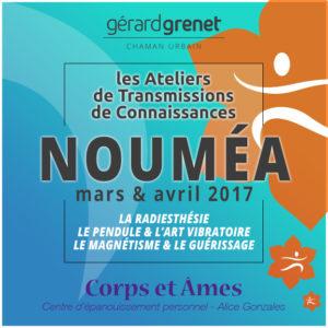 Transmission de connaissances à Nouméa 2017