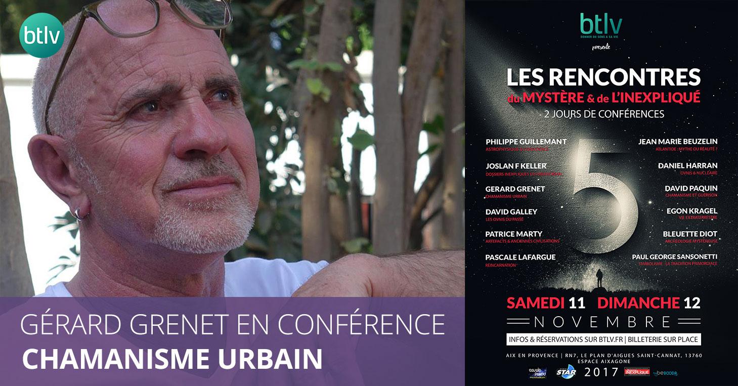 Les rencontres du Mystère & de l'inexpliqué - Conférence de Gérard Grenet avec BTLV