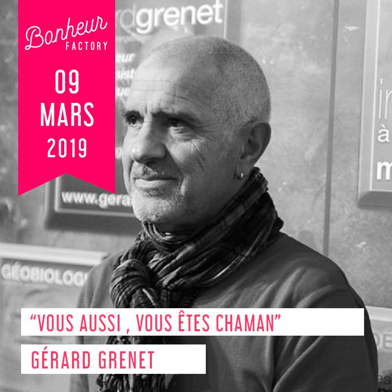 Atelier Gérard Grenet chez Bonheur Factory