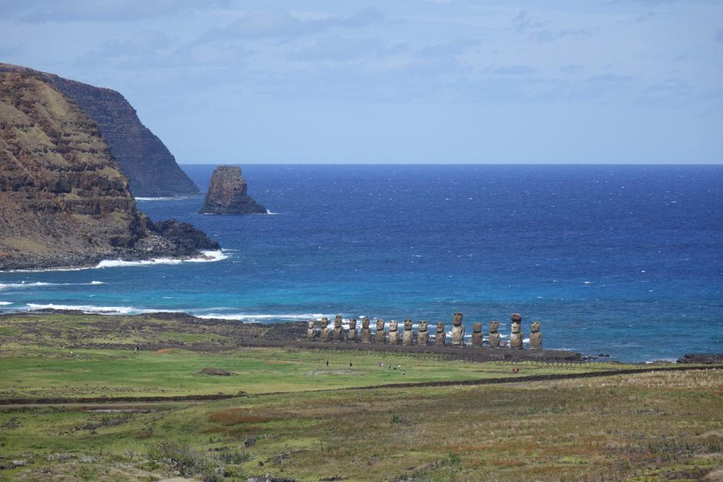 A la découverte de l'île de Pâques avec Patrice Marty